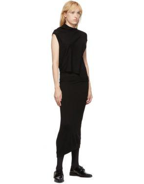 photo Black Askance Dress by McQ Alexander McQueen - Image 5