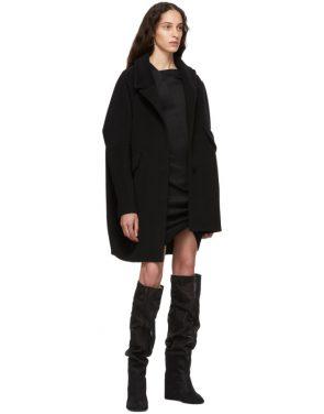 photo Black Front Drape Dress by Helmut Lang - Image 5