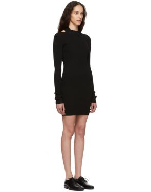 photo Black Open Back Dress by Helmut Lang - Image 2