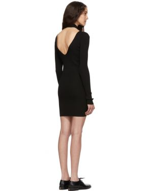 photo Black Open Back Dress by Helmut Lang - Image 3