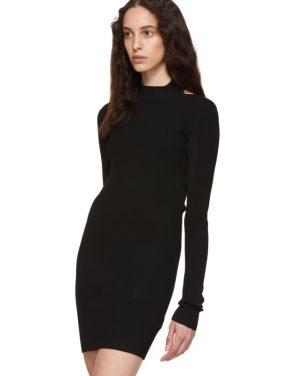 photo Black Open Back Dress by Helmut Lang - Image 4