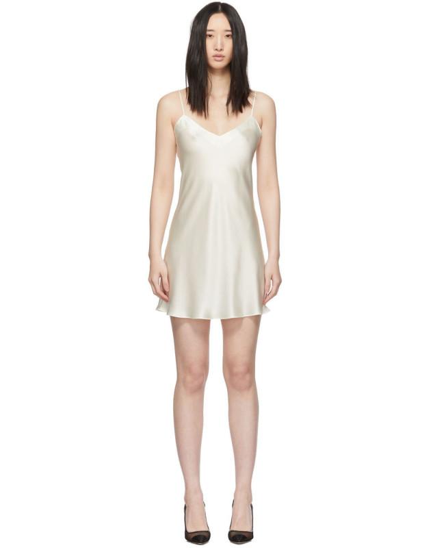 photo Off-White Dream Short Dress by Simone Perele - Image 1