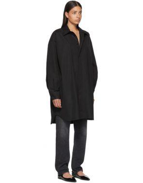 photo Black Shirt Dress by Maison Margiela - Image 2