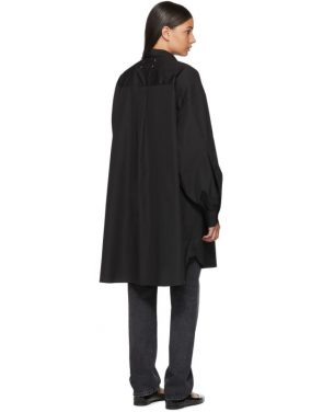 photo Black Shirt Dress by Maison Margiela - Image 3