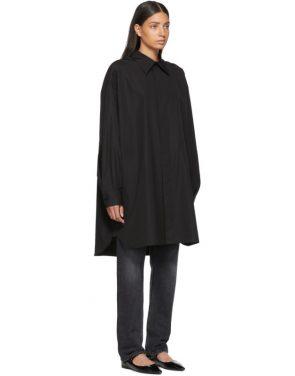 photo Black Shirt Dress by Maison Margiela - Image 4