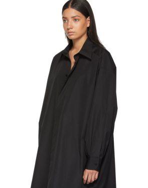 photo Black Shirt Dress by Maison Margiela - Image 5