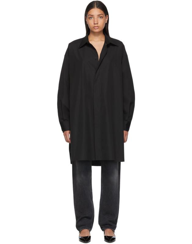 photo Black Shirt Dress by Maison Margiela - Image 1