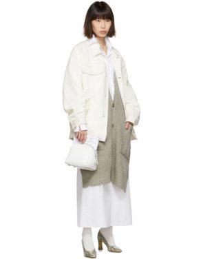 photo White Long Shirt Dress by Maison Margiela - Image 5