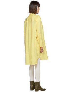 photo Yellow Oversized Shirt Dress by Maison Margiela - Image 3