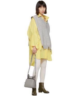 photo Yellow Oversized Shirt Dress by Maison Margiela - Image 5