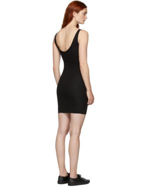photo Black Rhea Chemise Dress by Skin - Image 3