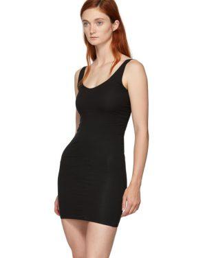 photo Black Rhea Chemise Dress by Skin - Image 4