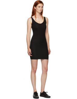 photo Black Rhea Chemise Dress by Skin - Image 5