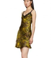 photo Gold Leopard Baroque Dress by Versace Jeans Couture - Image 4