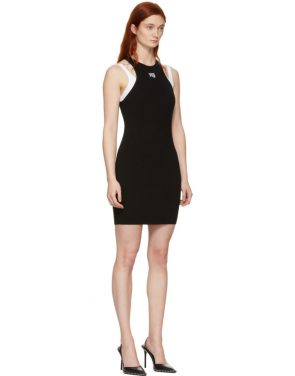 photo Black Foundation Bodycon Dress by alexanderwang.t - Image 2