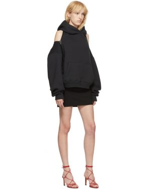 photo Black Wash and Go Mini Dress by alexanderwang.t - Image 5