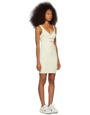 photo Off-White Crepe Jersey Dress by alexanderwang.t - Image 2