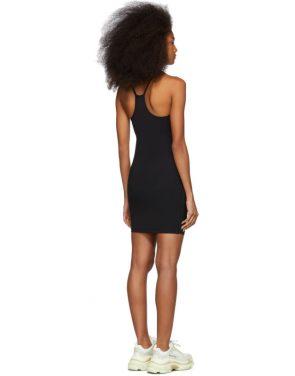 photo Black Swim Jersey Dress by alexanderwang.t - Image 3