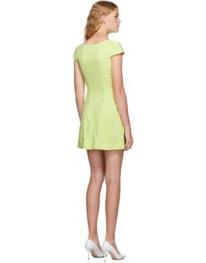 photo Yellow Gigi Dress by Miaou - Image 3