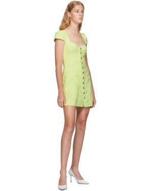 photo Yellow Gigi Dress by Miaou - Image 5
