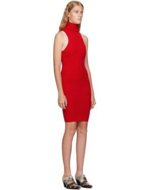 photo Red Nonna Mini Dress by giu giu - Image 2