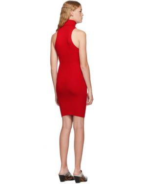 photo Red Nonna Mini Dress by giu giu - Image 3