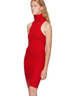 photo Red Nonna Mini Dress by giu giu - Image 4