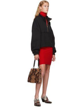 photo Red Nonna Mini Dress by giu giu - Image 5