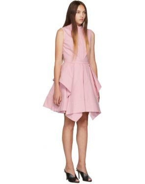 photo Pink Ruffle Dress by Alexander McQueen - Image 2