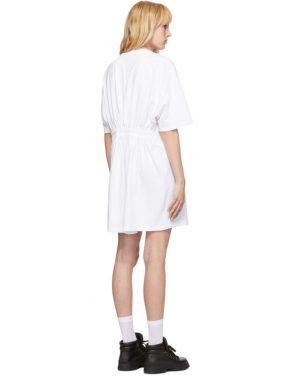 photo White Elastic Back Dress by Opening Ceremony - Image 3