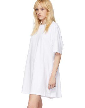 photo White Elastic Back Dress by Opening Ceremony - Image 4