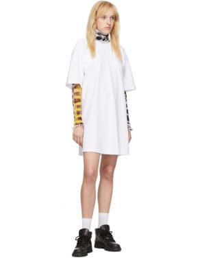 photo White Elastic Back Dress by Opening Ceremony - Image 5