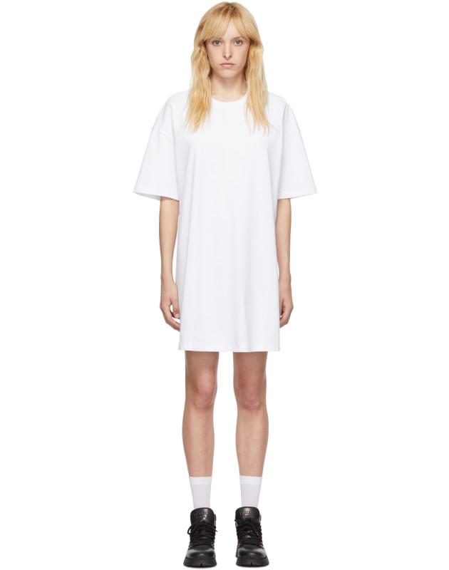 photo White Elastic Back Dress by Opening Ceremony - Image 1