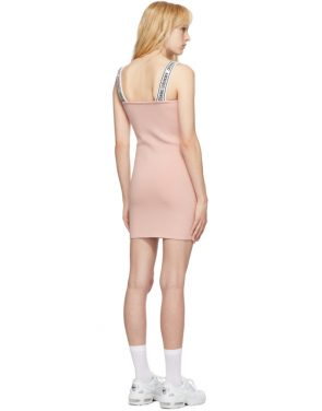 photo Pink Logo Mini Dress by Opening Ceremony - Image 3