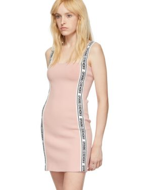 photo Pink Logo Mini Dress by Opening Ceremony - Image 4