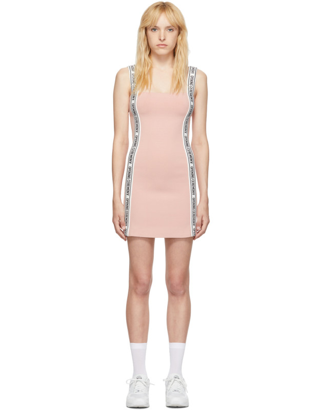 photo Pink Logo Mini Dress by Opening Ceremony - Image 1