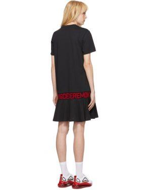 photo Black OC Logo T-Shirt Dress by Opening Ceremony - Image 3