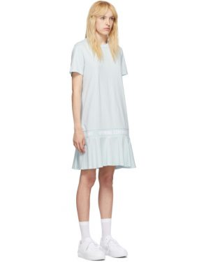 photo Blue OC Logo T-Shirt Dress by Opening Ceremony - Image 2