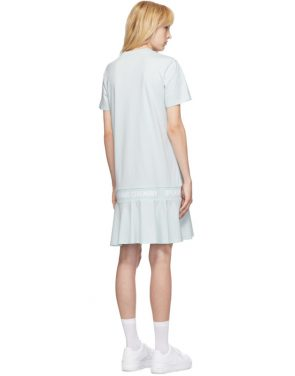 photo Blue OC Logo T-Shirt Dress by Opening Ceremony - Image 3