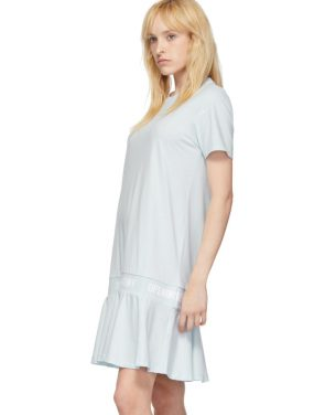 photo Blue OC Logo T-Shirt Dress by Opening Ceremony - Image 4
