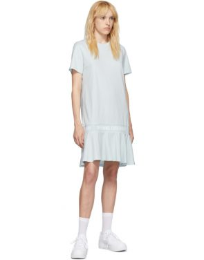 photo Blue OC Logo T-Shirt Dress by Opening Ceremony - Image 5