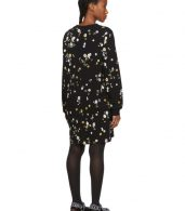 photo Black Floral T-Shirt Dress by Givenchy - Image 3
