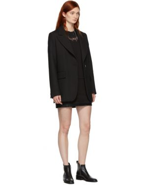 photo Black Lace Insert T-Shirt Dress by 3.1 Phillip Lim - Image 5
