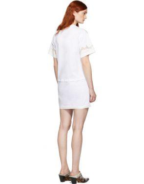photo White Lace Insert T-Shirt Dress by 3.1 Phillip Lim - Image 3