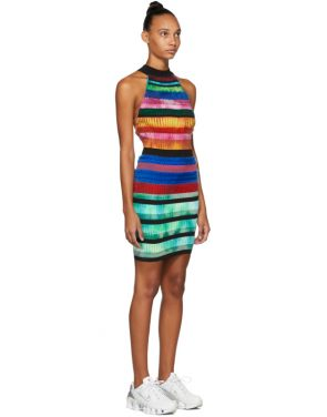 photo Multicolor Halter Dress by AGR - Image 2