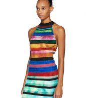 photo Multicolor Halter Dress by AGR - Image 4