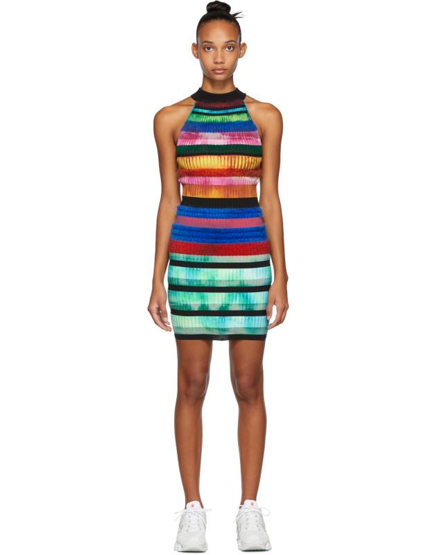 photo Multicolor Halter Dress by AGR - Image 1