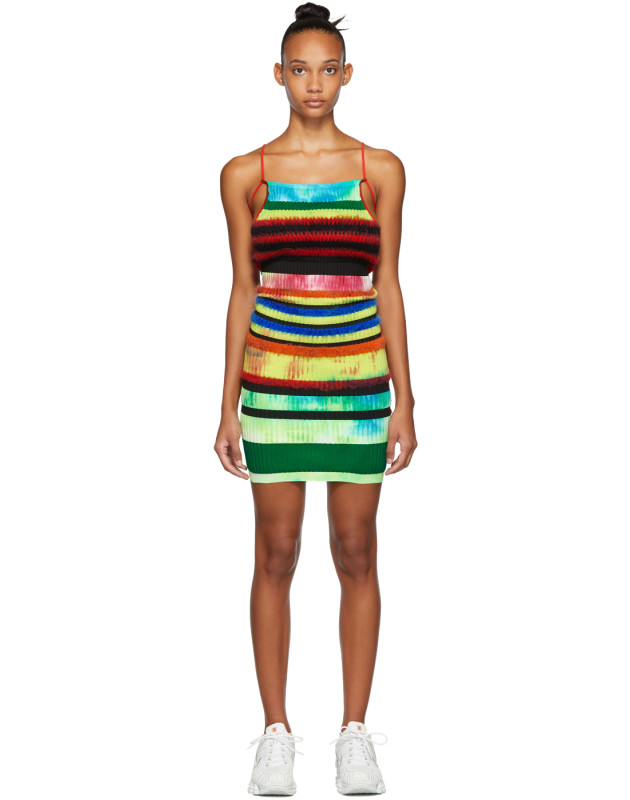 photo Multicolor Strap Dress by AGR - Image 1
