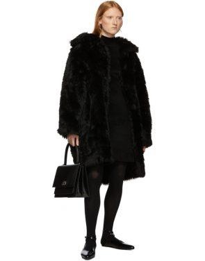 photo Black Knit A-Line Dress by Balenciaga - Image 5