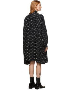 photo Black BB Vareuse Dress by Balenciaga - Image 3